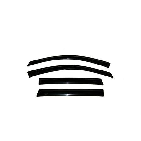 Auto Ventshade 94526 Ventvisor Deflector 4 pc. Fits 01-06 X5 - image 2 de 2