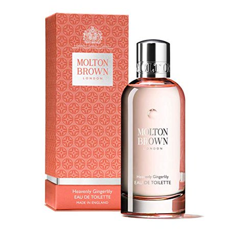 Heavenly Gingerlily by Molton Brown Eau De Toilette 3.4oz/100ml Spray New In (Molton Brown Cool Buchu Eau De Toilette 50ml)