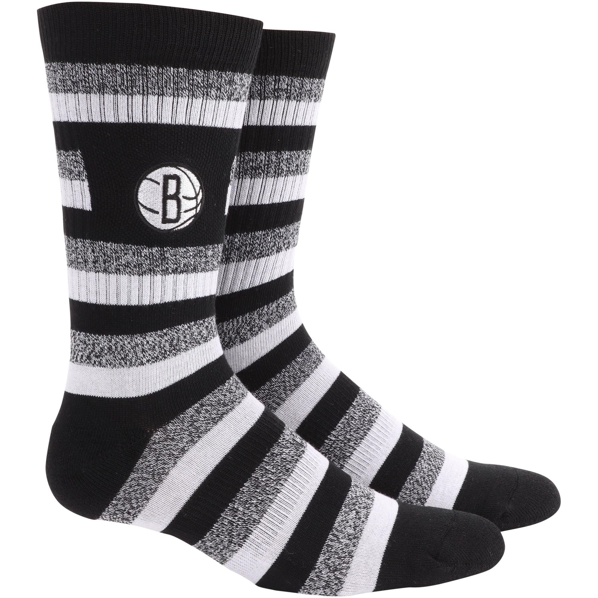 Brooklyn Nets Step Crew Socks - L