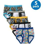 Lucasfilm Star Wars, Boys Underwear, 5 Pack Briefs (Little Boys & Big Boys)