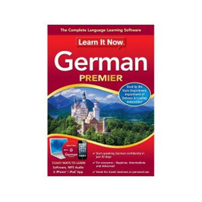 Learn It Now German, Mac (Email Delivery)