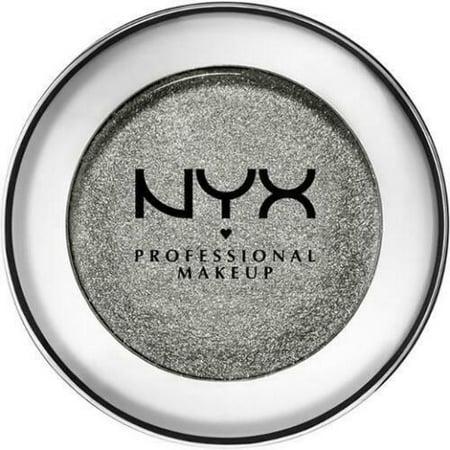 NYX Prismatic Eye Shadow PS06 Smoke & Mirrors (Deep gunmetal grey with silver) 0.043 oz ()