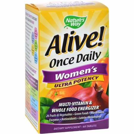 Nature's Way Alive Once Daily Women's Multi-vitamin Ultra Potency - 60