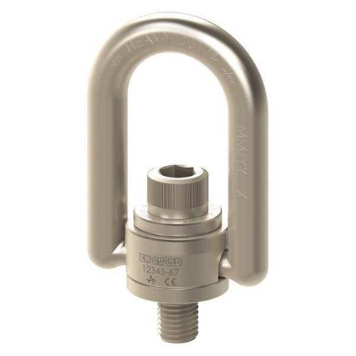 ADB HOIST RINGS EN33427 Hoist Ring, 2-4-1 2in, 1100 ft.-lb, ENHDHR by ADB HOIST RINGS