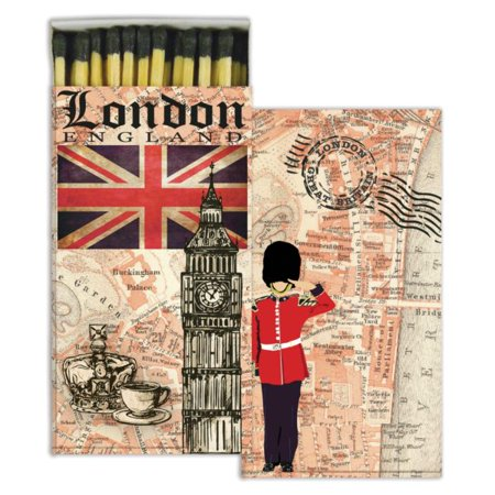 HomArt Large Decorative London Map - Rumba London Halloween