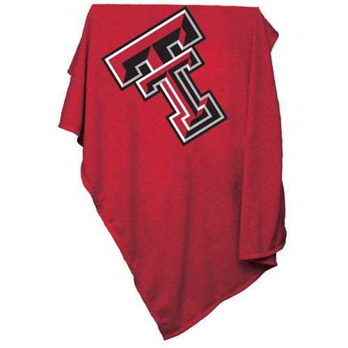 TX Tech Red Raiders Sweatshirt Blanket