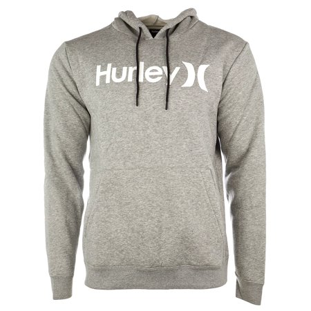 Hurley Surf Check One and Only Pullover Hoodie - Dark Grey Heather//White - Mens - XL ()