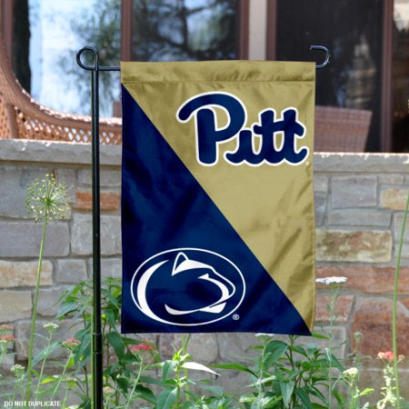 pitt vs. penn state house divided garden flag