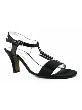 14969389f971 Product Image New David Tate Womens Stargaze-001 Black T-Strap Sandals Size  8.5 (C