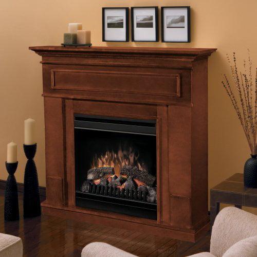 Dimplex Pierce Electric Fireplace - Cherry Brown