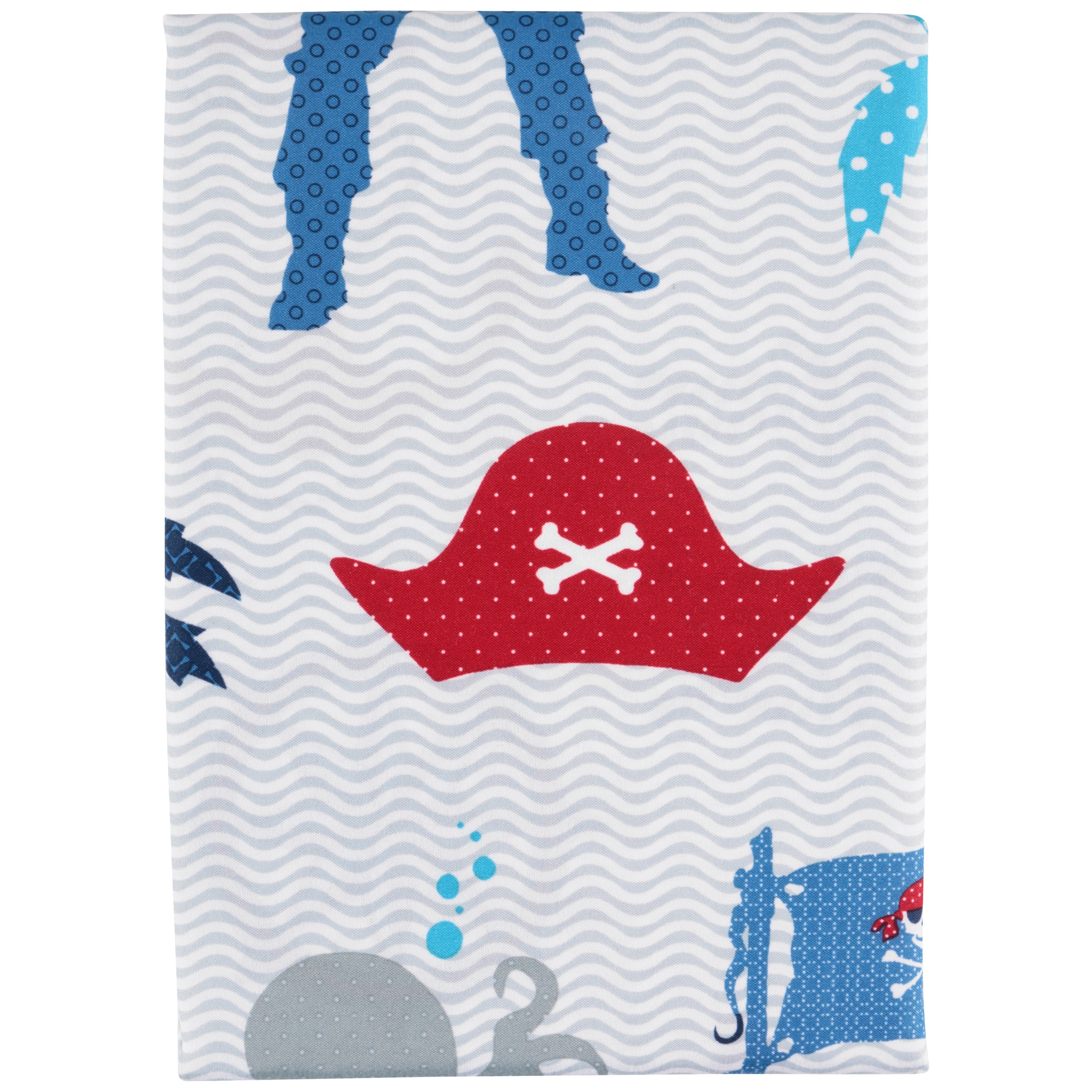 Mainstays™ Kids Ahoy Mates Fabric Shower Curtain Pack