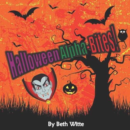 Halloween Learning Printables (Be Witty Seasonal Learning: Halloween Alpha-Bites!)