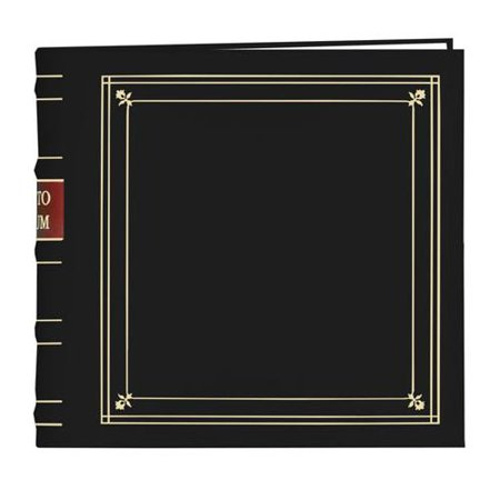 Holds 200 Photos - Pioneer Bonded Leather 3 Ring Photo Album, Holds 200 4x6