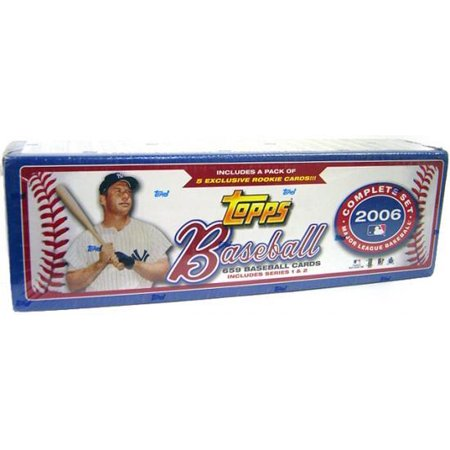 Mlb 2006 Topps Baseball Cards Complete Set Factory Sealed
