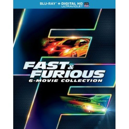 Fast & Furious 6-Movie Collection (Blu-ray + Digital HD) (With INSTAWATCH) (Widescreen)