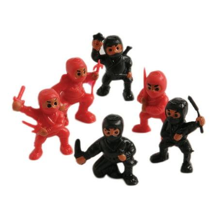 US Toy Mini Ninja Figures Dozen 1.25