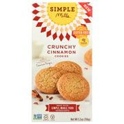 (6 Pack) Simple Mills Cinnamon Crunchy Cookies, 5.5 Oz.