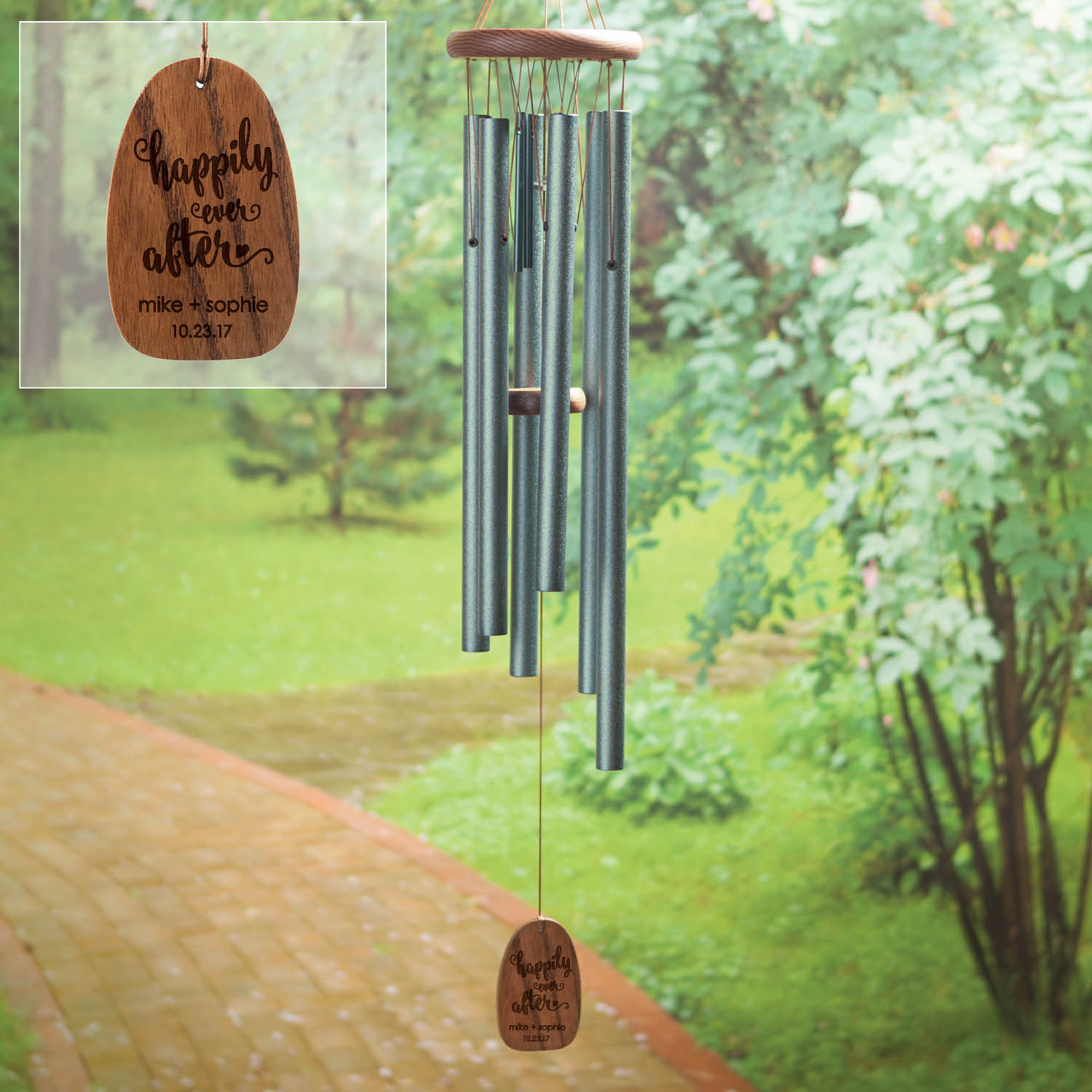 Personalized Wedding Wind Chimes by Generic