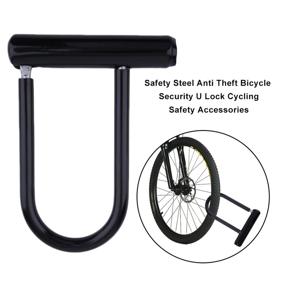 Strong Security Safety Accessory Motorcycle U Lock Bike Anti Theft Bicycle Lock
