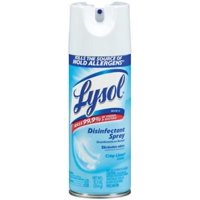 NEW 12.5 OZ Lysol Crisp Linen Scent Disinfectant Spray