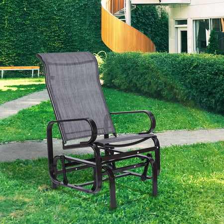 Vintage Glider Rocker Chair, Steel Frame Patio Gliders, for Outdoor Garden  Patio Backyard Lawn - Vintage Glider Rocker Chair, Steel Frame Patio Gliders, For Outdoor