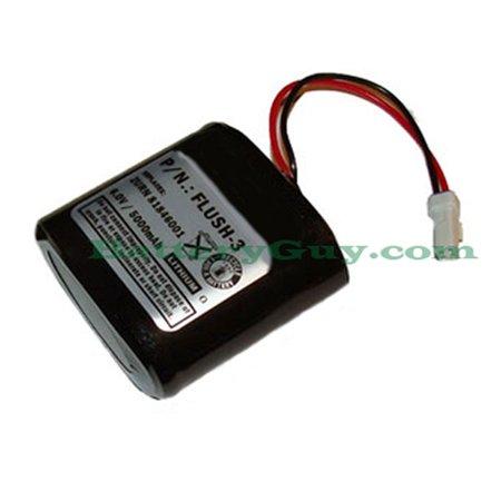 FLUSH-3 Automatic Flusher Battery 6.0V 5000mAh (Best Automatic Battery E Cig)