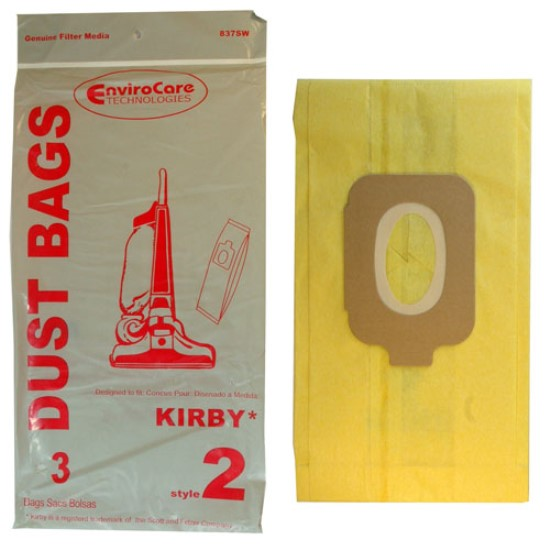Kirby Vacuum Bags Style 2 for Kirby Heritage I HD by Envirocare®