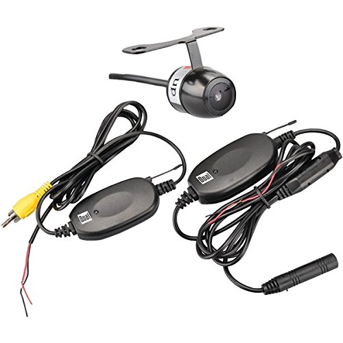 XCAM500 Waterproof High Definition LED Wireless Wide Viewing Angle Car Rear View Camera By Dual Electronics Ship from US