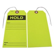 BADGER TAG & LABEL CORP 114 Hold Tag, 2-7/8 in. W, PK25