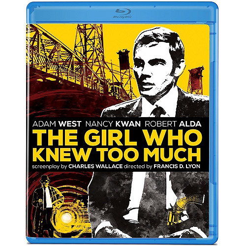 The Girl Who Knew Too Much (1969) (Blu-ray) (Anamorphic Widescreen)