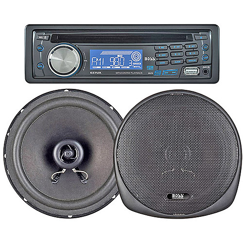 """Boss Audio 647CK MP3/CD/AM/FM Receiver with 2 x 6.5"""" Speakers"""