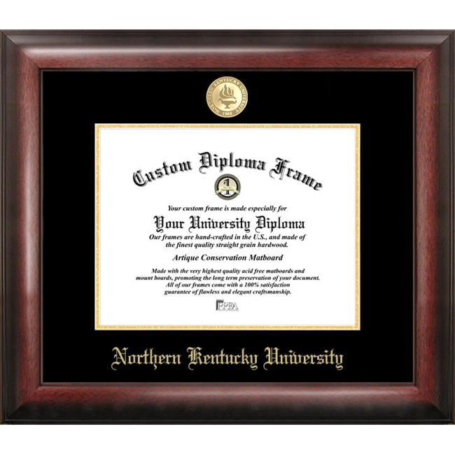 Northern Kentucky  University Gold Embossed Diploma Frame