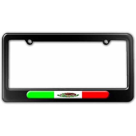 Mexican Flag Mexico License Plate Tag Frame Multiple Colors