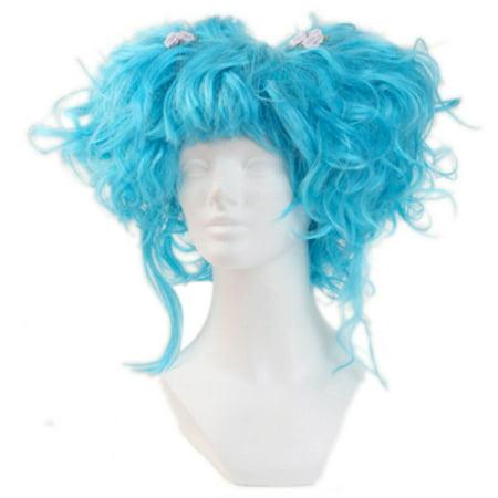Karmae Wig - Dark Turquoise - Turquoise Wig