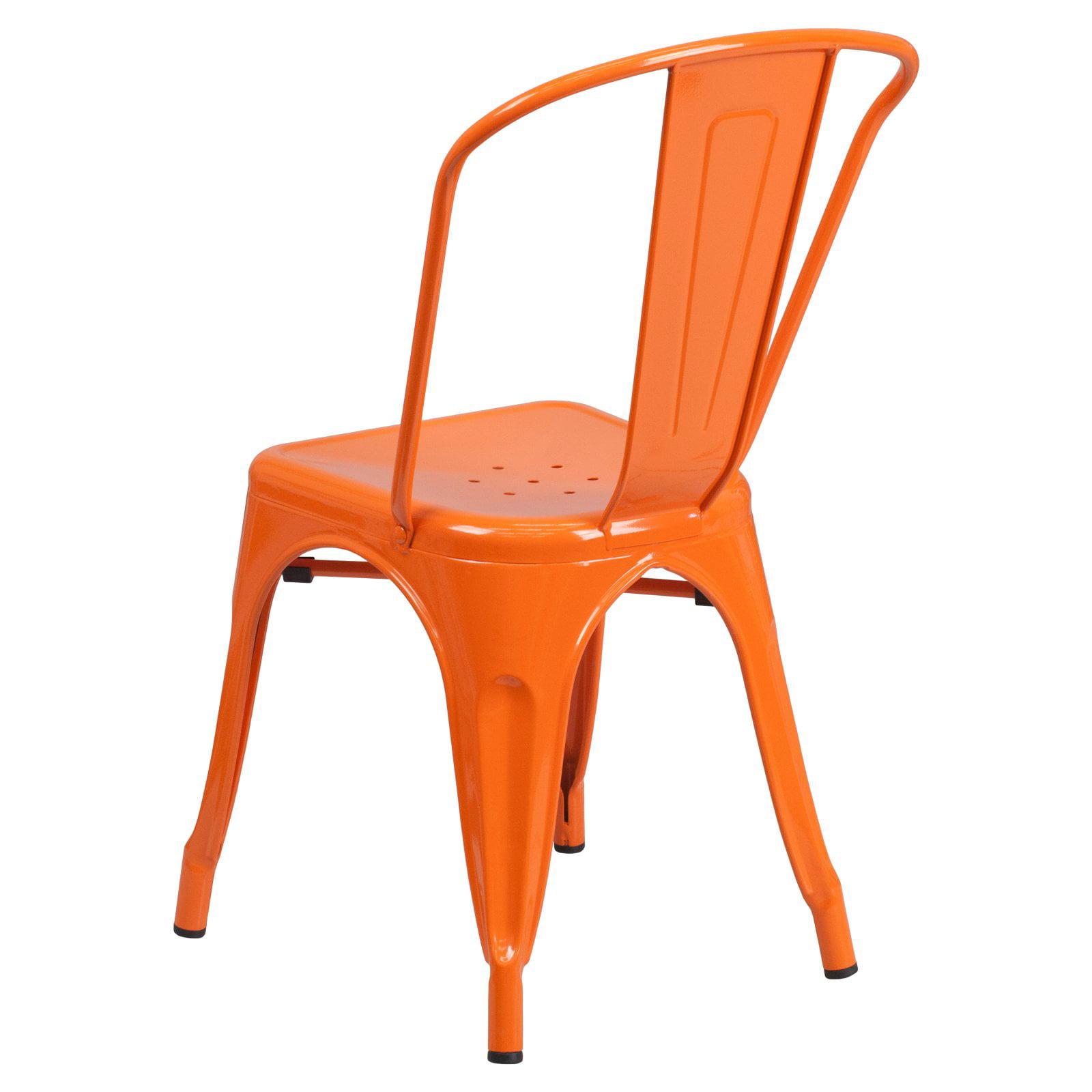100 orange chair milo baughman clam shell swivel chairs set