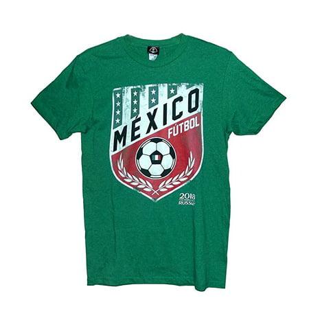 2373dbbbb Fifa World Cup - 2018 FIFA World Cup Mexico Futbol Pennant Men s T-Shirt  (XX-Large) - Walmart.com