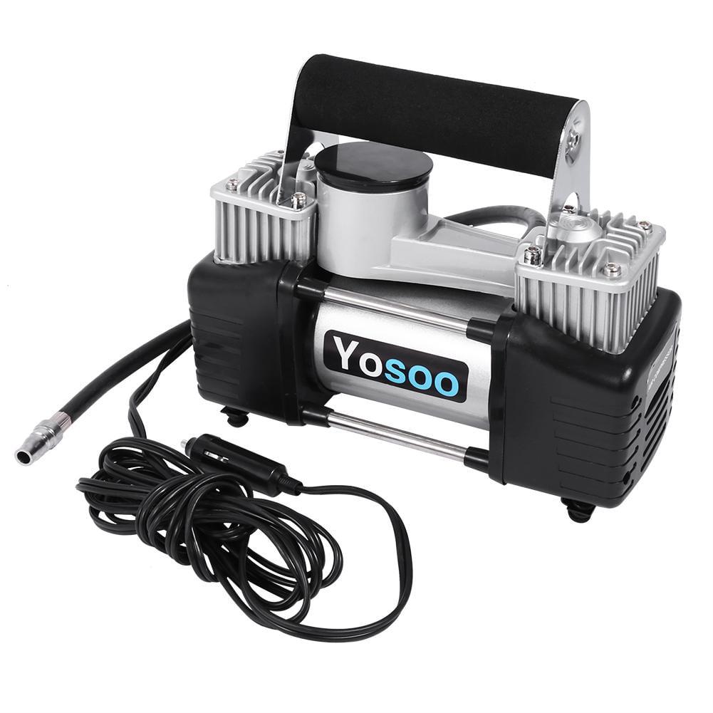 Lv. life Portable Cylinder 150 PSI Air Compressor 12V Car Auto Pump Tire Inflator