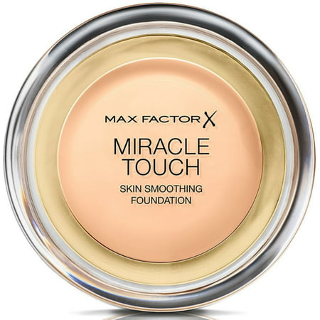 2 Pack - Max Factor Miracle Touch Liquid Illusion Foundation, [75] Golden 0.38 oz (Max Factor Miracle Touch 75)