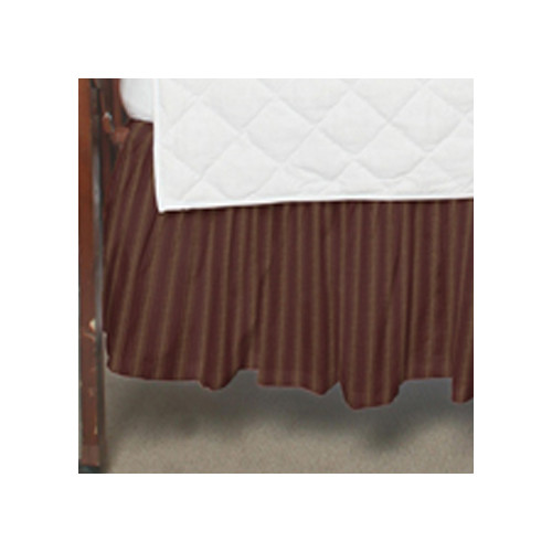 Patch Magic Stripes Fabric Crib Dust Ruffle by Patch Magic