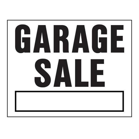 Hy-Ko Plastic Garage Sale Sign