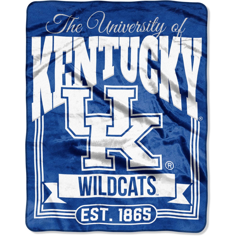 "NCAA Kentucky Wildcats ""Traction"" 55"" x 70"" Silk Touch Throw"