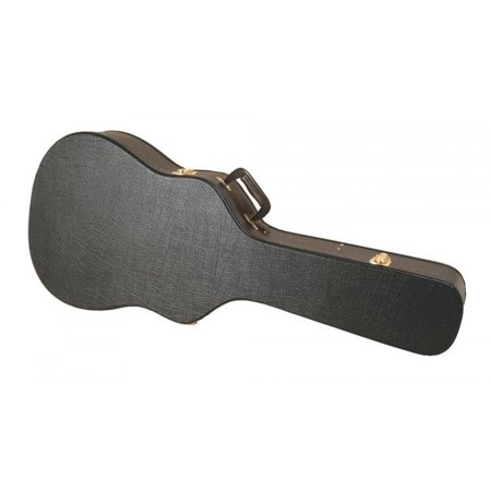 On-Stage GCA5500B Hardshell Molded Shallow-Body Acoustic Guitar Case Body Glove Guitar Cases