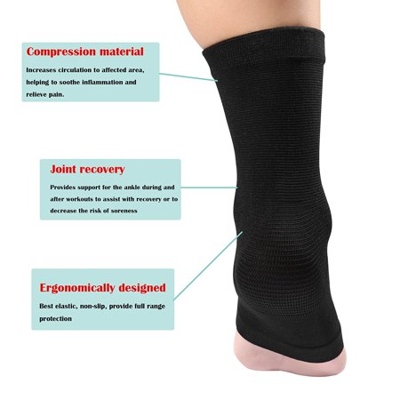 Ejoyous Elastic Ankle Support Brace Foot Guard Sprains Injury Wrap Bandages Strap - image 6 of 7