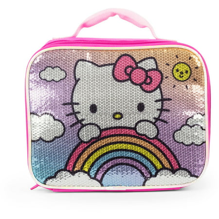 Hello Kitty Happy Days! Sequins Lunch Kit