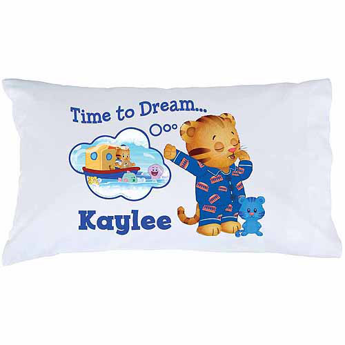 Personalized Daniel Tiger's Neighborhood Time to Dream Pillowcase