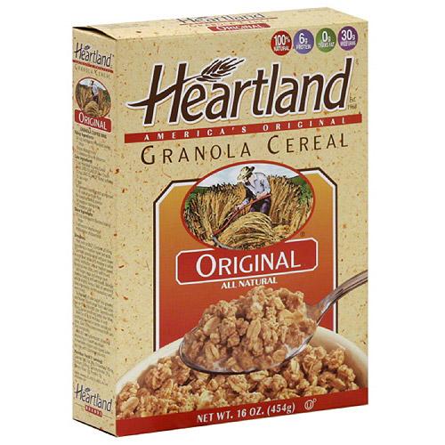 Heartland Original Granola Cereal, 16 oz, (Pack of 6)