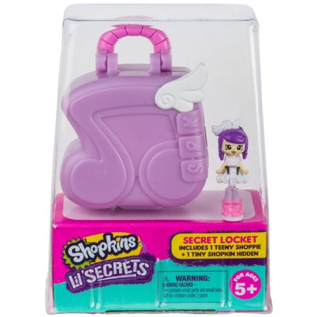 Shopkins Secret Locket Music Store Micro Playset