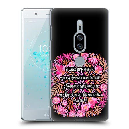 OFFICIAL CAT COQUILLETTE QUOTES TYPOGRAPHY 6 HARD BACK CASE FOR SONY PHONES 1 - Walmart.com