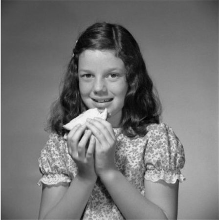 Posterazzi SAL255421005A Portrait of Hungry Girl Poster Print - 18 x 24 in. - image 1 of 1