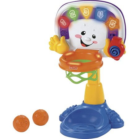 Fisher price laugh and learn basketball walmart